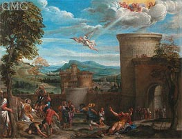 The Stoning of St. Stephen | Annibale Carracci | outdated