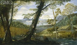 River Landscape | Annibale Carracci | outdated