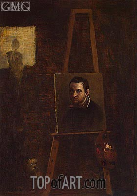 Annibale Carracci | Self-Portrait, c.1604