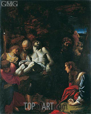 The Burial of Christ, 1595 | Annibale Carracci | Painting Reproduction