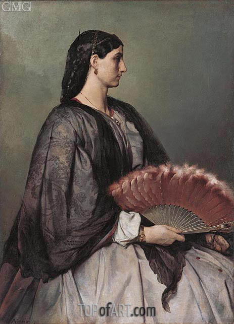 Nanna, c.1861 | Anselm Feuerbach | Painting Reproduction