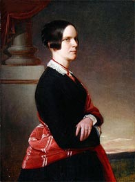 Portrait of Mrs. Sandys, the Artist's Mother, c.1845/50 by Sandys | Painting Reproduction