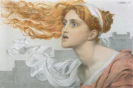 Cassandra, undated by Sandys | Painting Reproduction