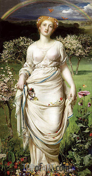 Gentle Spring, c.1860 | Sandys | Painting Reproduction