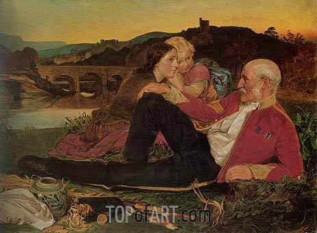 Autumn, c.1860/62 | Sandys | Painting Reproduction