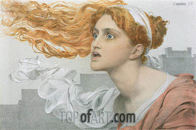 Cassandra, undated | Sandys| Painting Reproduction