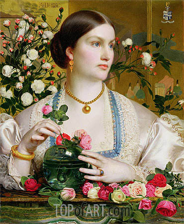 Grace Rose, 1866 | Sandys| Painting Reproduction