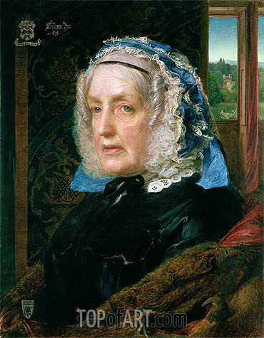 Mrs. Rose, 1862 | Sandys| Painting Reproduction