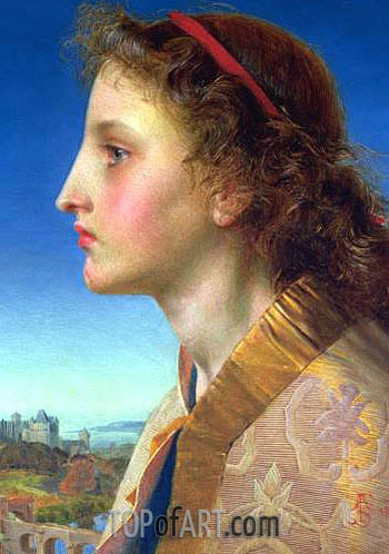 Oriana, 1861 | Sandys | Gemälde Reproduktion
