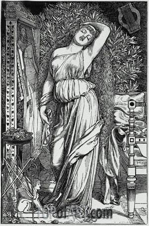 Danae in the Brazen Chamber, 1888 | Sandys | Gemälde Reproduktion
