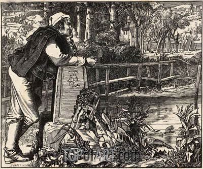 The Old Chartist, 1862 | Sandys| Painting Reproduction