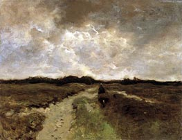 Crossing the Heath, c.1885/88 von Anton Mauve | Gemälde-Reproduktion