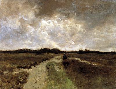 Anton Mauve | Crossing the Heath, c.1885/88