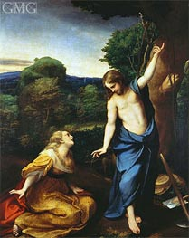 Noli Me Tangere, c.1525 by Correggio | Painting Reproduction