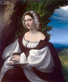 Portrait of a Lady | Correggio | veraltet