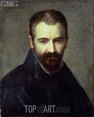 Possible Self Portrait, undated | Correggio | Painting Reproduction