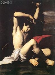 Saint Sebastian, c.1650 by Antonio de Bellis | Painting Reproduction