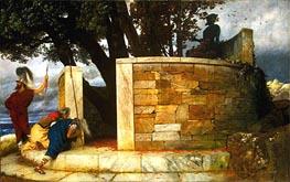 The Sanctuary of Hercules, 1884 von Arnold Bocklin | Gemälde-Reproduktion