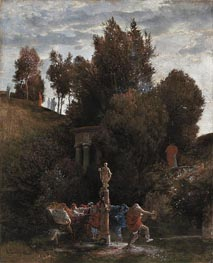 Roman May Festival, c.1872 by Arnold Bocklin | Painting Reproduction