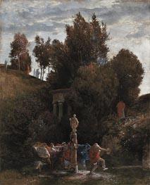 Roman May Festival, c.1872 von Arnold Bocklin | Gemälde-Reproduktion