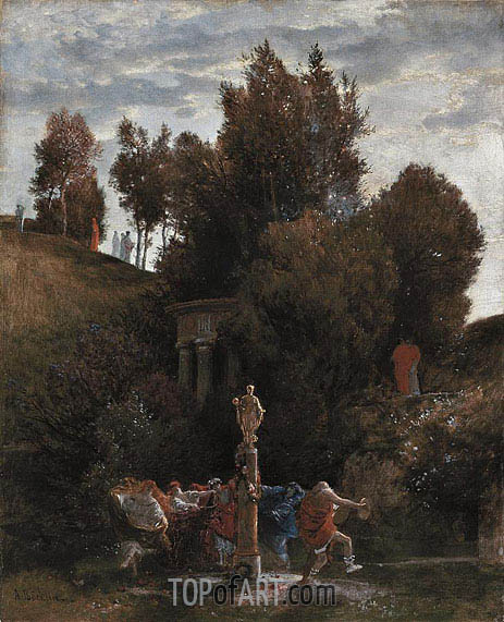 Roman May Festival, c.1872 | Arnold Bocklin | Painting Reproduction