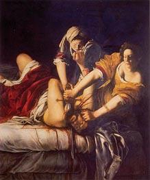 Judith Slaying Holofernes, c.1620 von Artemisia Gentileschi | Gemälde-Reproduktion