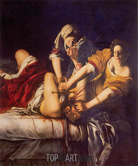 Judith Slaying Holofernes, c.1620 | Artemisia Gentileschi | Painting Reproduction