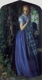 April Love, 1855 by Arthur Hughes | Painting Reproduction