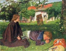 Home from the Sea, 1863 by Arthur Hughes | Painting Reproduction