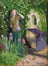 Fair Rosamund, 1854 by Arthur Hughes | Painting Reproduction