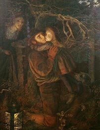 The Lost Child, c.1866/67 von Arthur Hughes | Gemälde-Reproduktion