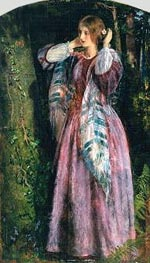 Amy (Study For The Long Engagement) | Arthur Hughes | outdated