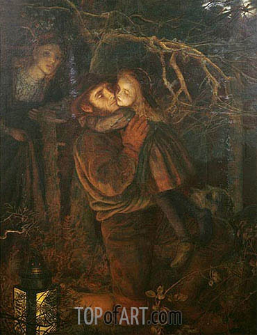 Arthur Hughes | The Lost Child, c.1866/67