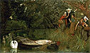 The Lady of Shalott | Arthur Hughes