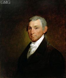 James Monroe, 1835 by Asher Brown Durand | Painting Reproduction