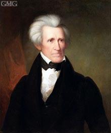 Andrew Jackson, 1835 von Asher Brown Durand | Gemälde-Reproduktion