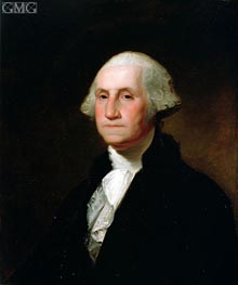 Portrait of George Washington | Asher Brown Durand | Painting Reproduction