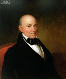 John Quincy Adams | Asher Brown Durand | Painting Reproduction