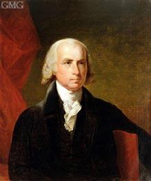 James Madison, 1835 von Asher Brown Durand | Gemälde-Reproduktion
