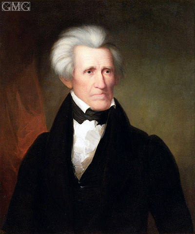 Asher Brown Durand | Andrew Jackson, 1835