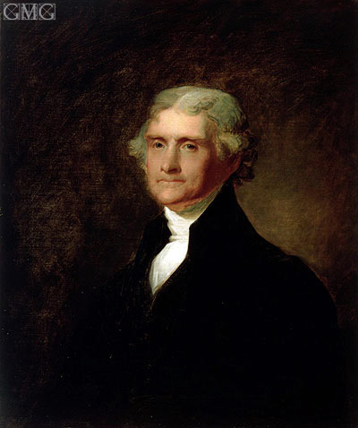 Asher Brown Durand | Portrait of Thomas Jefferson, c.1835
