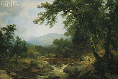 Asher Brown Durand | Monument Mountain, Berkshires, c.1855/60
