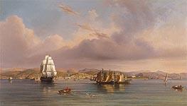Trieste, 1858 von August Anton Tischbein | Gemälde-Reproduktion