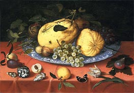 Fruit Still Life with Shells and a Tulip | van der Ast | outdated