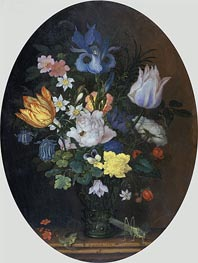 Flower Still Life, 1622 by van der Ast | Painting Reproduction