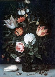 Vase of Flowers, undated von van der Ast | Gemälde-Reproduktion