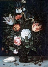 Vase of Flowers, undated by van der Ast | Painting Reproduction