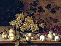 Still Life of Fruits, undated by van der Ast | Painting Reproduction