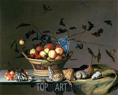 Still Life, undated | van der Ast| Painting Reproduction