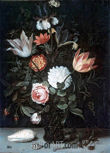 Vase of Flowers, undated | van der Ast | Painting Reproduction